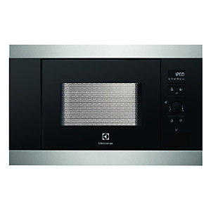 Electrolux EMS17006OX Fully Built-In 17 Litre Microwave Oven Stainless Steel 800W