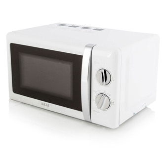 Akai A24004 Commercial Microwave Oven in White 700W 20L