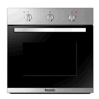 Baumatic BSO612SS Built In Electric Fan Oven in Stainles Steel 2yr Gte