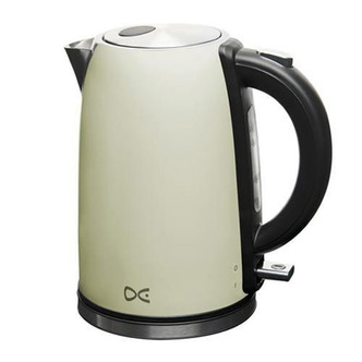 Daewoo DSK7A3 CREAM Cordless Kettle in Cream 1 7L 3 0kW