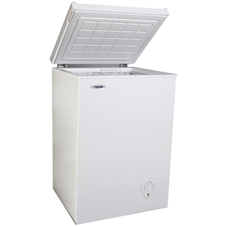 Fridgemaster MCF98 Chest Freezer in White 99L 3 5 cu ft A Rated