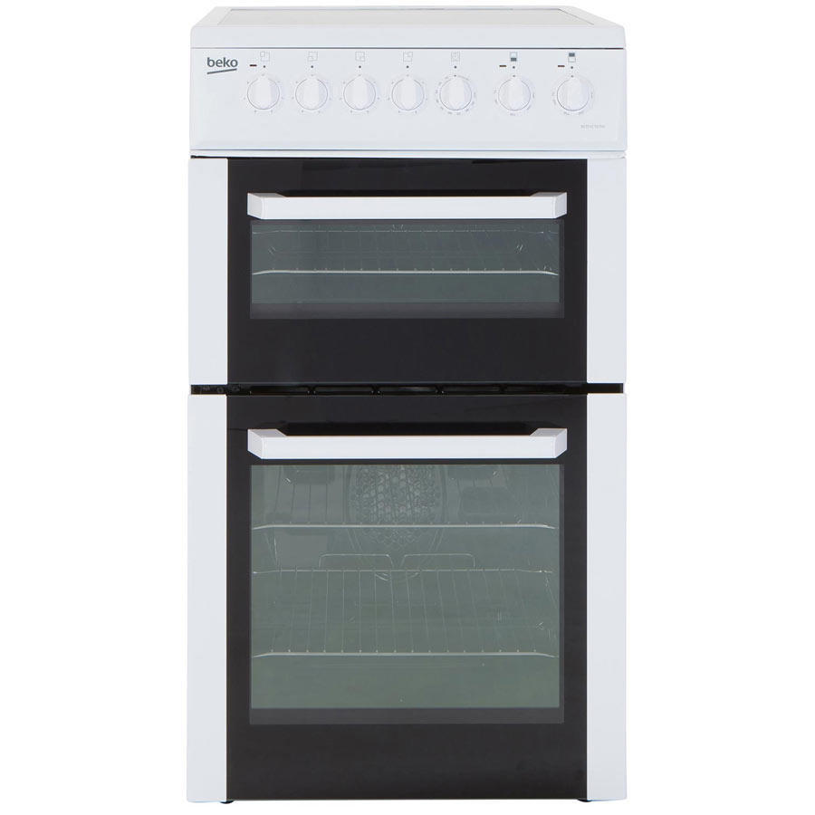 BCDVC503W 50cm Double Oven Electric Cooker