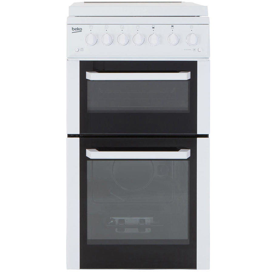 BCDG504W 50cm Twin Cavity Gas Cooker
